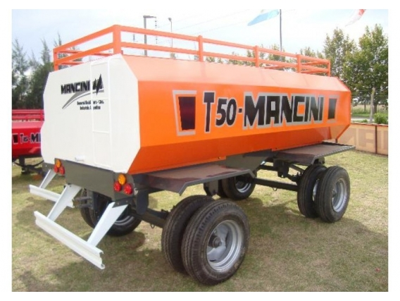 Acoplado Tanque Mancini T50