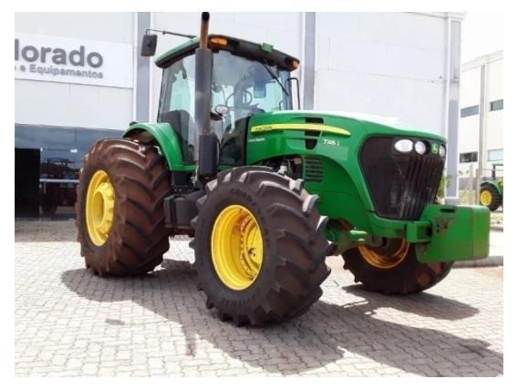 Tractor John Deere 7225J - Año 2014